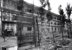 Exterior of S-21 Prison in Phnom Penh, Cambodia